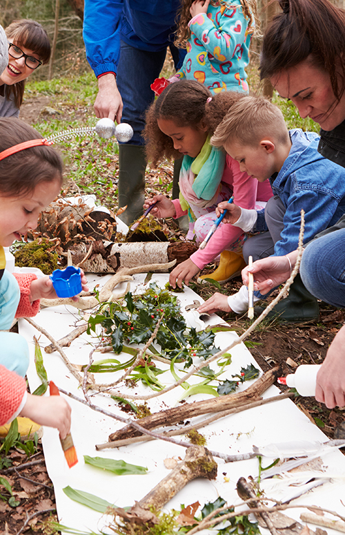 Urban Green Design Image Outdoor Learning and Play Training 2